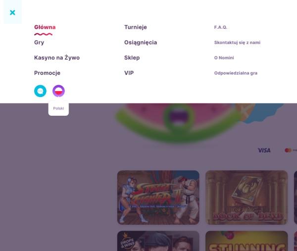 jezyk polski w kasynie