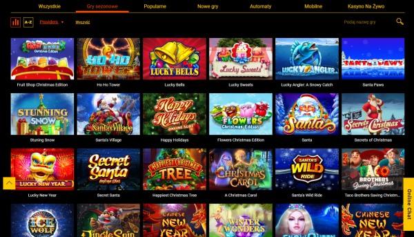 kasyna z minimalnym depozytem wybór gier