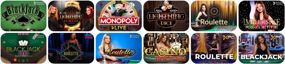 kasyno na żywo all right casino