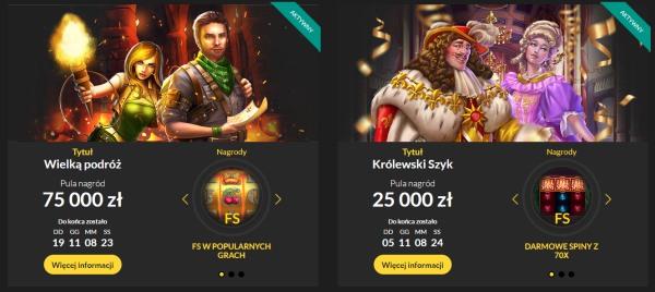 turnieje i loterie w kasynie loki